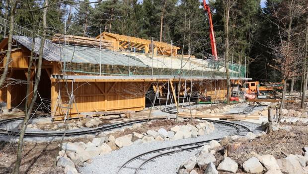 Bayern-Park neue Attraktionen 2018 Baustelle