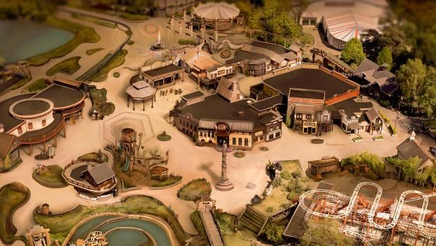 Bobbejaanland Cowboy Stad 2018 Konzept