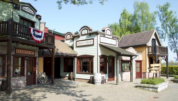 Bobbejaanland Cowboy Town