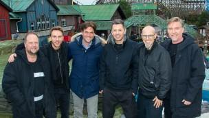 Die Fantastischen Vier Clueso Zusammen im Europa-Park