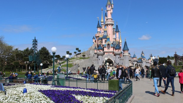 Disneyland Paris als Blinder