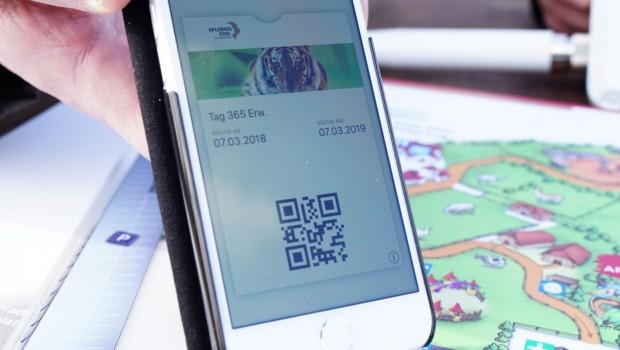 Erlebnis-Zoo hannover E-Ticket App Smartphone