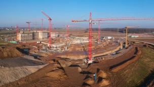 Unfall auf Rulantica-Baustelle: Arbeiter stürzt zwölf Meter in die Tiefe