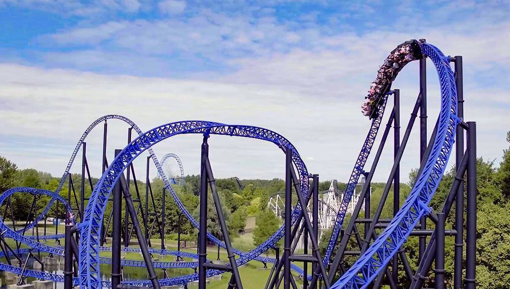 Goliath in Walibi Holland