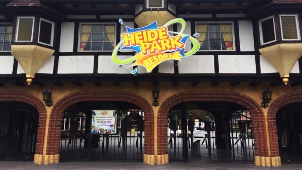 Heide Park 2018 Eingang neu