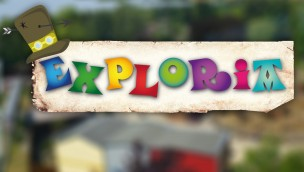 Heide Park Exploria Logo Collage