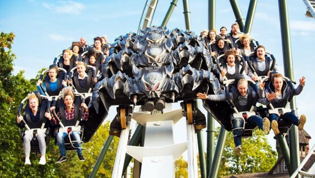 Heide Park Flug der Dämonen Frontal
