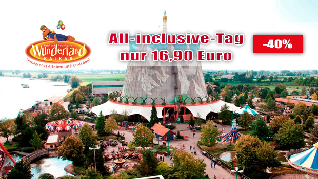 Kernie's Familienpark All Inclusive Angebto 2018