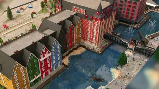 Kronasar Hotel Modell Rückseite
