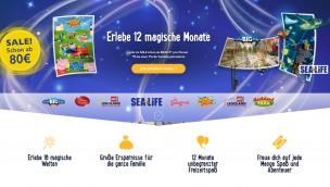 Merlin Jahreskarte im Rabatt-Angebot: Bis zu 21 Attraktionen ein Jahr lang ab nur 80 € besuchen!