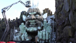 Movie Park Germany Mystery River 2018 Baustelle 03