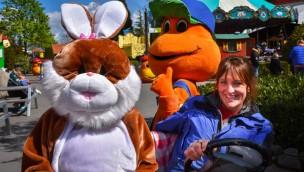 Kernie's Familienpark lädt 2018 zur Ostereier-Suche am 1. und 2. April ein
