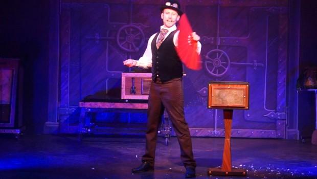 Patrick Keaton 2018 Zauberer im Freizeit-Land Geiselwind