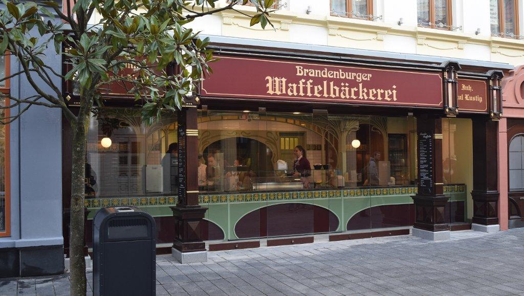 Phantasialand Brandenburger Waffelbäckerei