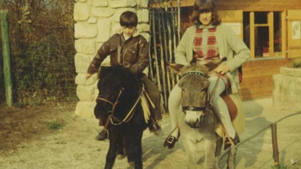 Ponyreiten im Familypark Neusiedlersee