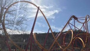 Six Flags Fiesta Texas Wonder Woman Golden Lasso
