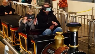 """Steinwasen-Park präsentiert 2018 neu Virtual-Reality-Erlebnis auf Achterbahn """"Gletscherblitz"""""""