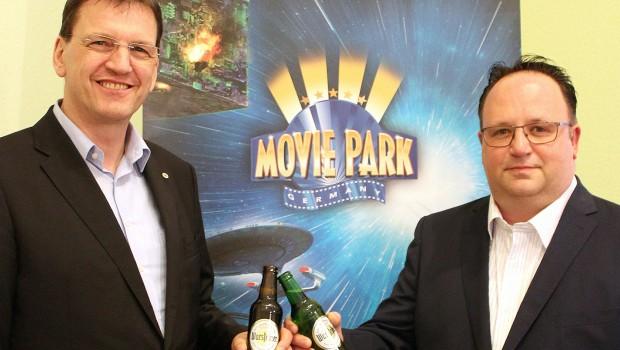 Warsteiner Movie Park Germany Kooperation/Partnerschaft 2018 und 2019