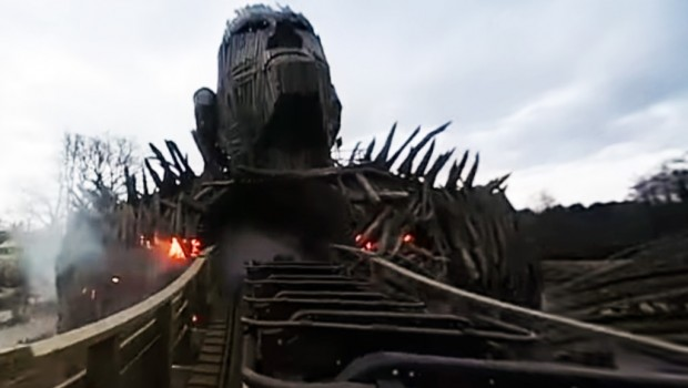 Wicker Man - Alton Towers - OnRide