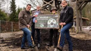"""Erlebnis-Zoo Hannover baut neues Eulenreich: Voliere in """"Yukon Bay"""" entsteht"""