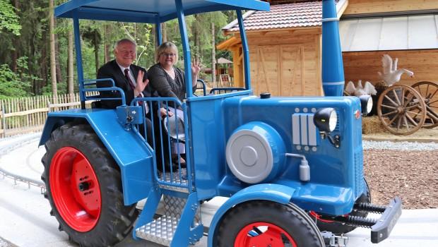 Bayern-park Bulldogfahrt Eröffnung