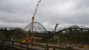 Colossos Wiedereröffnung 2019 Bauarbeiten Beginn