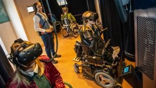 Efteling Droomvlucht Rollstuhlfahrer VR