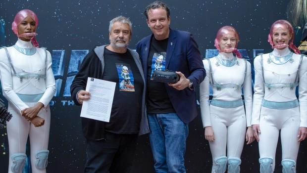 Eurosat 2018 Weltraum VR-Film mit Luc Besson