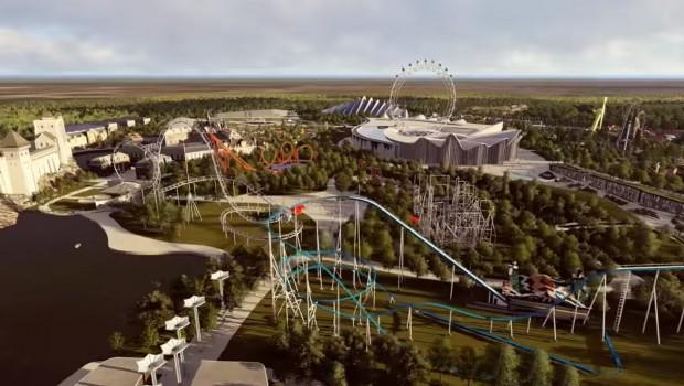 Freizeitpark Kasachstan Achterbahnen Preview