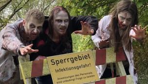 Heide Park Zombies Sperrgebiet Zombie Escape