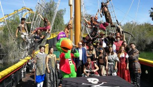 Isla Mágica präsentiert 2018 erneuertes Show-Programm und neuen 4D-Film