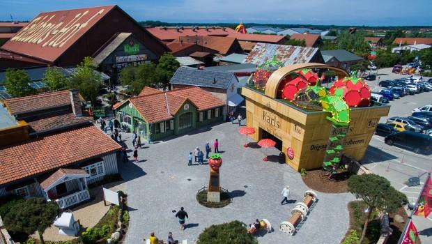Karls Erlebnis-Dorf Rövershagen Luftaufnahme