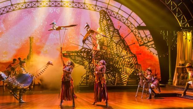 König der Löwen in Disneyland Paris Musical