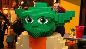 LEGO Star Wars Yoda Oberhausen Discovery Centre
