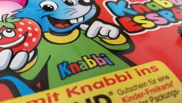 LEGOLAND Kinder Freikarte 2018 Knabbi Esspapier