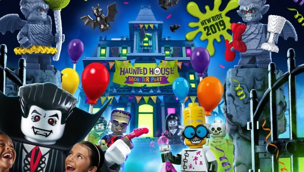Legoland Windsor Haunted House Monster Party neu 2019