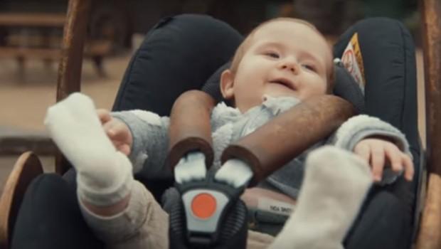 Looping-Achterbahn für Babys in Efteling