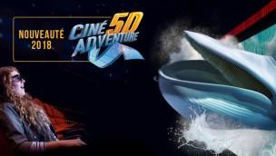 Marineland Antibes eröffnet neues 5D-Kino als erste Fahr-Attraktion im Park