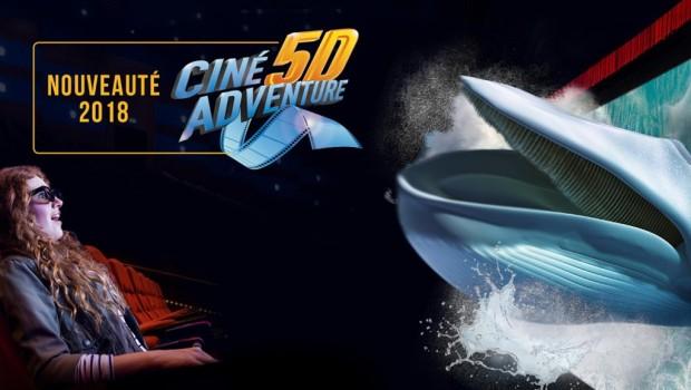Marineland Antibes 5D-Kino 2018