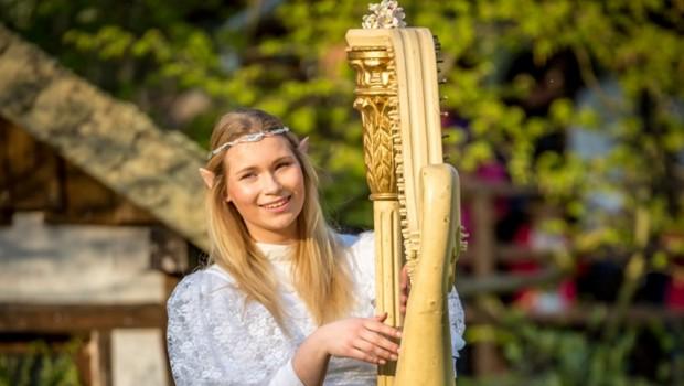 Phantasien Elf harfe FIlmpark Babelsberg