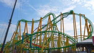 Riddler Rvenge in Six Flags New England