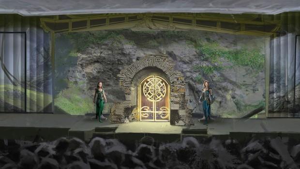 Rulantica Musical Szene Tor Artwork