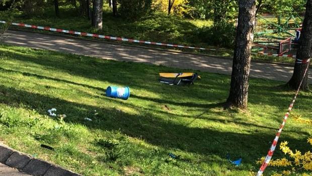 Schwaben-Park Einbrecher Druckwelle Sprengung