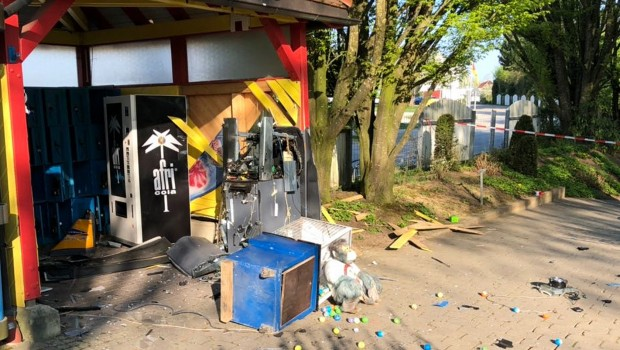 Schwaben-Park Einbruch Geldautomat gesprengt