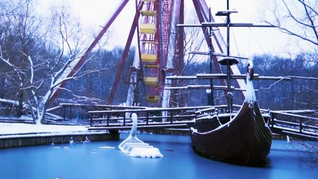 Spreepark - Verlassener Freizeitpark in Berlin: Riesenrad und See