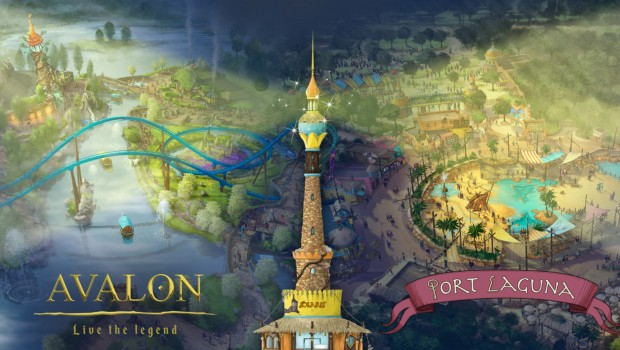 Toverland Making of Avalon und Port laguna 2018