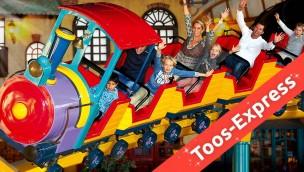 "Toverland: Aus Achterbahn ""Boomerang"" wird ""Toos-Express"""