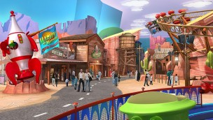 Warner Bros. World Dynamite Gulch Bereich