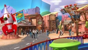 """Warner Bros. World Abu Dhabi stellt Themenbereiche """"Bedrock"""" und """"Dynamite Gulch"""" mitsamt Attraktionen vor"""