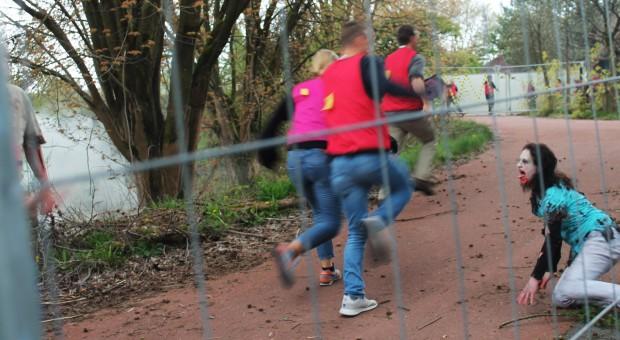 Zombie Escape Heide Park Wettlauf